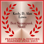 P&E best steampunk novel 2016